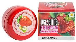 "Parfüm, Parfüméria, kozmetikum Ajakvazelin ""Eper"" - Kosmed Flavored Jelly Strawberry"
