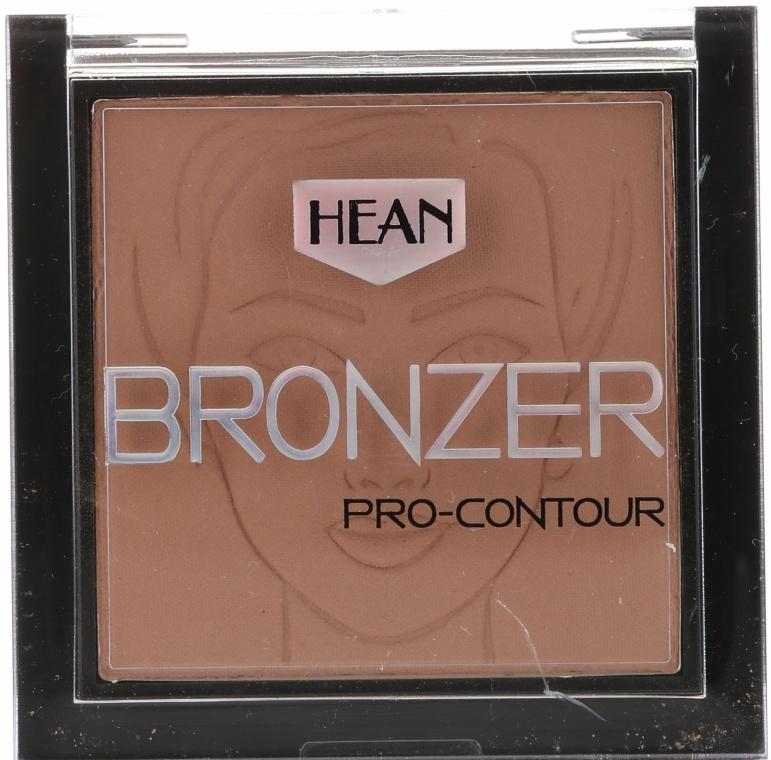 Bronzosító arcra - Hean Pro-contour Bronzer