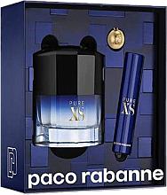Parfüm, Parfüméria, kozmetikum Paco Rabanne Pure XS - Szett (edt/50ml + edt/mini/10ml)