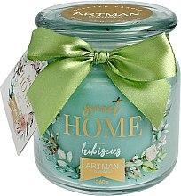 Parfüm, Parfüméria, kozmetikum Illatosított gyertya, 10x11 cm, 360 g. - Artman Sweet Home Hibiscus