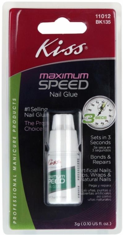 Körömragasztó 3 másodperc - Kiss Maximum Speed Nail Glue — fotó N1