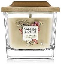 Parfüm, Parfüméria, kozmetikum Illatgyertya - Yankee Candle Elevation Velvet Woods