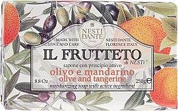 """Parfüm, Parfüméria, kozmetikum Szappan """"Olívaolaj és mandarin"""" - Nesti Dante Il Frutteto Soap"""