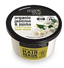 """Parfüm, Parfüméria, kozmetikum """"Indiai jázmin"""" hajmaszk - Organic Shop Organic Jasmine and Jojoba Hair Mask"""