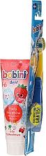 Parfüm, Parfüméria, kozmetikum Szett 1-6 év - Bobini (toothbrush + toothpaste/75ml)