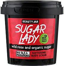 "Parfüm, Parfüméria, kozmetikum Bőrpuhító testradír ""Sugar Lady"" - Beauty Jar Softening Body Scrub"