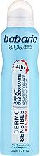 Parfüm, Parfüméria, kozmetikum Dezodor - Babaria Aloe Vera Dermo Sensible Deo Spray