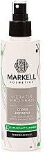 "Parfüm, Parfüméria, kozmetikum Hajspray ""Intenzív regeneráló"" - Markell Cosmetics Keratin Program"