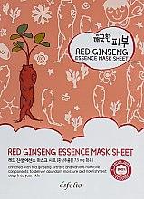 Parfüm, Parfüméria, kozmetikum Anyagmaszk piros ginzenggel - Esfolio Pure Skin Red Ginseng Essence Mask Sheet