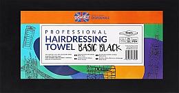 Parfüm, Parfüméria, kozmetikum Eldobható törlőkendő, 50 db., fekete - Ronney Professional Hairdressing Towel Basic Black