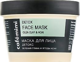 "Parfüm, Parfüméria, kozmetikum Arcmaszk ""Detox"" - Cafe Mimi Face Mask"