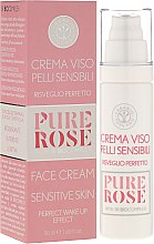 Parfüm, Parfüméria, kozmetikum Krém érzékeny bőrre - Erbario Toscano Pure Rose 3r Biocomplex Cream