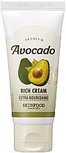Parfüm, Parfüméria, kozmetikum Krém repedezett és száraz bőrre, avokádó kivonattal - SkinFood Premium Avocado Rich Cream