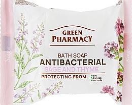 """Parfüm, Parfüméria, kozmetikum Antibakteriális kézmosó szappan """"Zsálya és kakukkfű"""" - Green Pharmacy"""