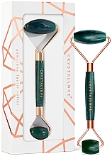 Parfüm, Parfüméria, kozmetikum Arcmasszírozó - Crystallove Aventurine Roller