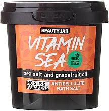 "Parfüm, Parfüméria, kozmetikum Narancsbőr elleni fürdősó ""Vitamin Sea"" - Beauty Jar Anticellulite Bath Salt"