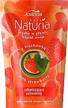 """Parfüm, Parfüméria, kozmetikum Folyékony szappan """"Eper"""" - Joanna Naturia Body Strawberry Liquid Soap (Refill)"""