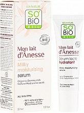 Parfüm, Parfüméria, kozmetikum Intenzív hidratáló szérum szamártejjel - So'Bio Etic Deep Moisturizing Serum