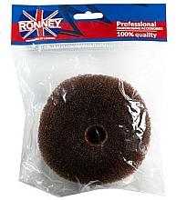 Parfüm, Parfüméria, kozmetikum Hajhenger,11x4.5 cm, barna - Ronney Professional Hair Bun 050