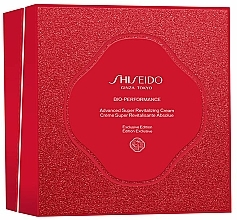Parfüm, Parfüméria, kozmetikum Készlet - Shiseido Bio-Performance Advanced Super Revitalizing Cream Holiday Kit (cr/50ml + foam/15ml + f/lot/30ml + conc/10ml)