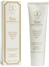 "Parfüm, Parfüméria, kozmetikum Borotva krém ""Avokádó"" - Taylor of Old Bond Street Avocado Luxury Shaving Cream (tubusban)"