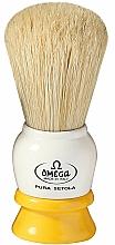 Parfüm, Parfüméria, kozmetikum Borotvapamacs, 10075, fehér-sárga - Omega