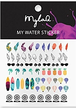 """Parfüm, Parfüméria, kozmetikum Körömmatrica """"Holiday"""" - MylaQ My Holiday Sticker"""