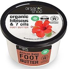 """Parfüm, Parfüméria, kozmetikum Lábvaj """"Afrikai balzsam"""" - Organic Shop Organic Hibiscus & 7 Oils Foot Butter"""