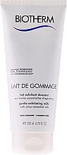 Parfüm, Parfüméria, kozmetikum Bőrhámlasztó tej száraz bőrre - Biotherm Body Lait De Gommage Gentle Exfoliating Milk