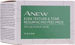 Parfüm, Parfüméria, kozmetikum Arcradír párnák - Avon Anew Even Texture & Tone Resurfacing Peel Pads