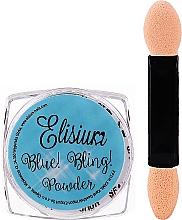 Parfüm, Parfüméria, kozmetikum Köröm púder - Elisium Blue Bling Powder
