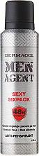 Parfüm, Parfüméria, kozmetikum Izzadásgátló - Dermacol Men Agent Sexy Sixpack 48H Protection Anti-Perspirant