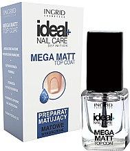 Parfüm, Parfüméria, kozmetikum Mattító fedőlakk - Ingrid Cosmetics Ideal+ Nail Care Definition Mega Matt Top Coat