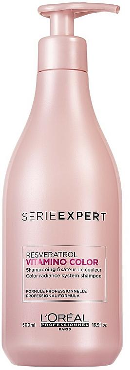 Sampon festett hajra - L'Oreal Professionnel Serie Expert Vitamino Color Resveratrol Shampoo