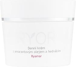 Parfüm, Parfüméria, kozmetikum Nappali krém amaránt olajjal és selyem kivonattal - Ryor Ryamar