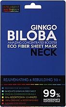 Parfüm, Parfüméria, kozmetikum Express maszk nyakra - Beauty Face IST Rejuvenating & Rebuilding Neck Mask Ginkgo Biloba