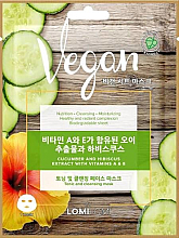 Parfüm, Parfüméria, kozmetikum Arcmaszk uborka-, hibiszkusz-, valamint A- és E-vitamin kivonatokkal - Lomi Lomi Vegan Mask