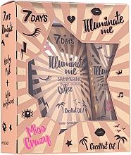Parfüm, Parfüméria, kozmetikum Szett - 7 Days Illuminate Me Miss Crazy №1 (b/milk/150ml + b/scrub/200g)