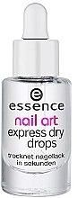 Parfüm, Parfüméria, kozmetikum Körömlakk szárító szérum - Essence Circus Circus Nail Art Express Dry Drops