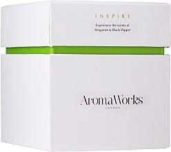 """Parfüm, Parfüméria, kozmetikum Illatosított gyertya """"Ihlet"""" - AromaWorks Inspire Candle"""