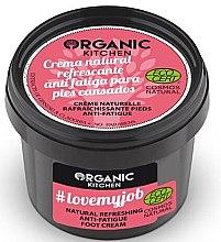Parfüm, Parfüméria, kozmetikum Frissítő lábkrém - Organic Shop Organic Kitchen Foot Cream
