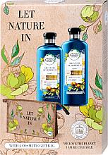 Parfüm, Parfüméria, kozmetikum Szett - Herbal Essences Argan Oil of Morocco (shm/400ml+cond/360ml+bag)