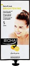Parfüm, Parfüméria, kozmetikum Arcmaszk - Iroha Nature Brightening Peel-Off Mask Lemon