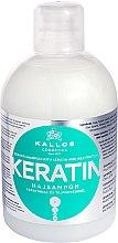 Parfüm, Parfüméria, kozmetikum Hajsampon keratinnal és tejproteinnel - Kallos Cosmetics Keratin Shampoo
