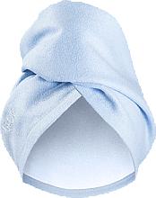 Parfüm, Parfüméria, kozmetikum Hajszárító törölköző sapka, világoskék - Glov Hair Wrap