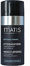 Parfüm, Parfüméria, kozmetikum Fény kontrol emulzió - Matis Reponse Homme Moisturising Shine Control Hydrating Emulsion