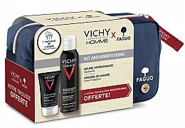 Parfüm, Parfüméria, kozmetikum Szett - Vichy Homme Sensitive After-Shave (foam/200ml + a/sh/balm/75ml + bag)