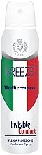 Parfüm, Parfüméria, kozmetikum Dezodor-spray - Breeze Mediterranean Invisible Comfort Deodorant Spray