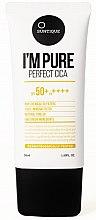Parfüm, Parfüméria, kozmetikum Napvédő krém érzékeny bőrre - Suntique I'm Pure Perfect Cica SPF 50+ / PA +++