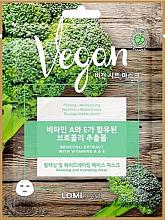 Parfüm, Parfüméria, kozmetikum Arcmaszk brokkoli kivonattal - Lomi Lomi Vegan Mask